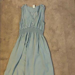 H&M mama maternity chambray dress